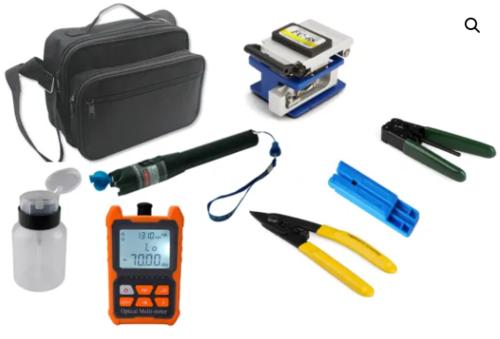 Fiber Optics Tool Kit TK300 with Clever optical multi meter