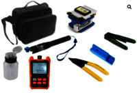 Fiber Optics Tool Kit TK300 with Clever optical multi meter