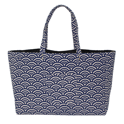 Inside Polyester Natural Canvas Tote Bag
