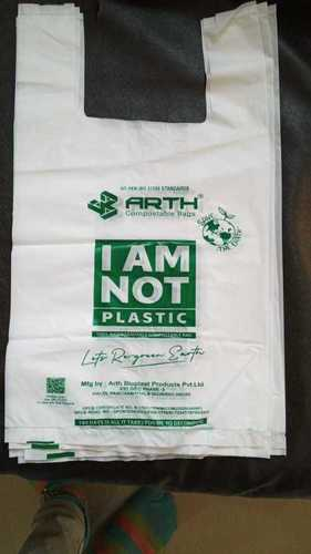 Biodegradable Compostable Carry Bags