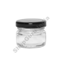 1 Oz Round Preservative Jar