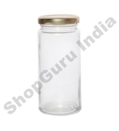 250 ML Bamboo Jar Glass