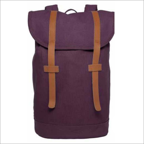 Ladies Leather Burgundy Handbag