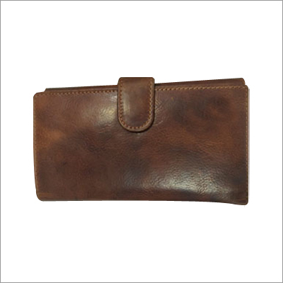 Ladies Leather Foldable Wallet