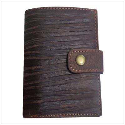 Mens Wallet With Metal Card Case