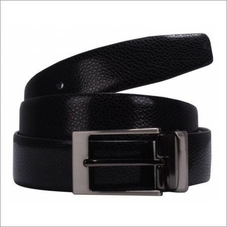 Genuine Leather Snake Print Mens Belt