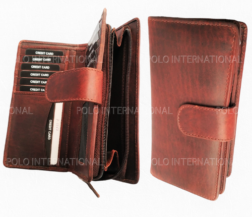 Leather Wallet with Multi Functional Slots