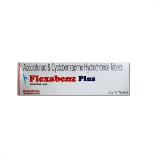 Aceclofenac and Cyclobenzaprine Hydrochloride Tablets