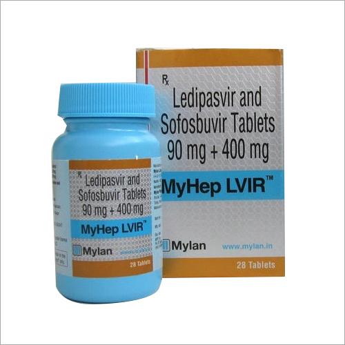 400 mg 90mg Ledipasvir And Sofosbuvir Tablets