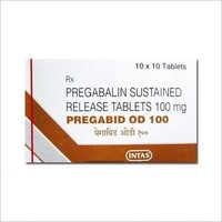 100 Pregabalin Sustained Release Tablets