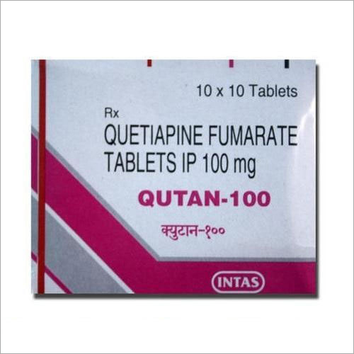 100 mg Quetiapine Fumarate Tablets