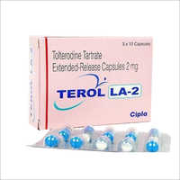 2mg Tolterodine Tartrate Etended Release Capsules