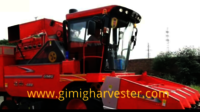4 Rows Corn Combine Harvester