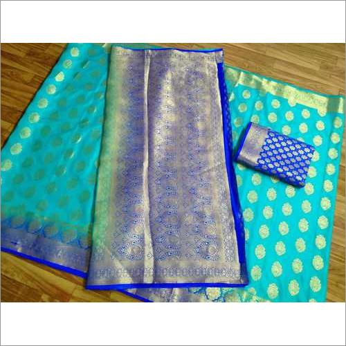 Jacquard Weaving Kanchivaram Rich Pallu
