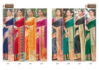 Bansuri Vol-2 Designer Handloom Silk Sarees