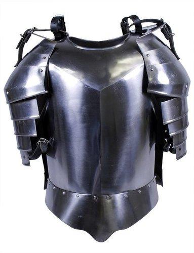 Medieval Breastplate Flute Armor