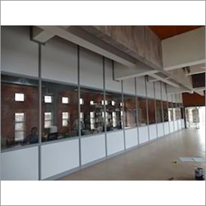 Stylish Aluminium Office Partition