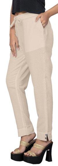Pencil Pant Designer Cotton Slub Pant