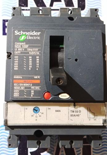 SCHNEIDER MCCB 80A