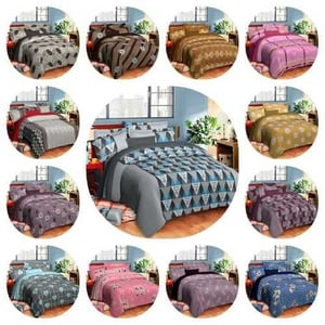 Jerry DOUBLE BED SHEET SET SIZE
