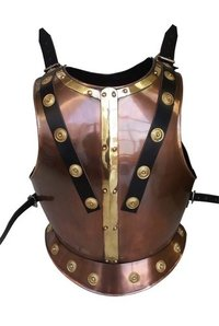 Copper Antique Medieval Breastplate Armor