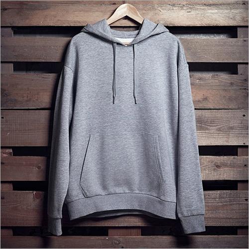 Mens Grey Hoodie