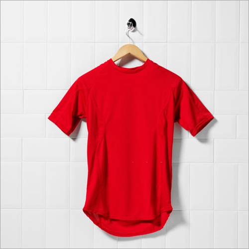 Solid Red T Shirt