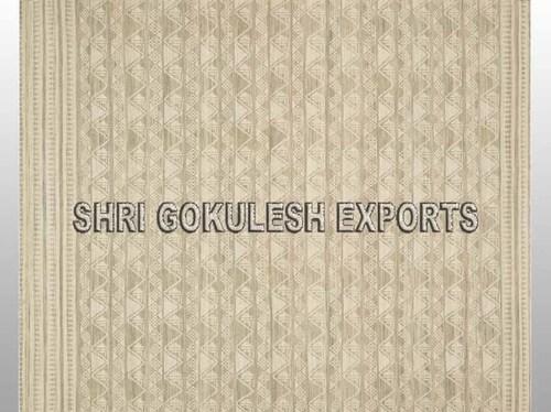 Handmade Wool Flat Weave Indian Style Decorative Carpets