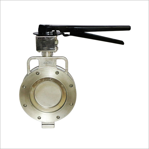 Electrical Double Flange Butterfly Valve