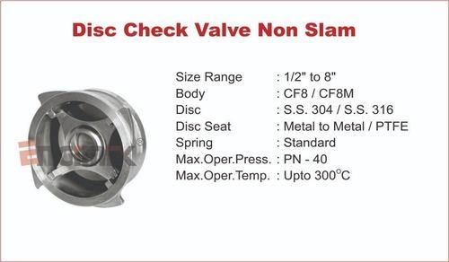 Manual Disc Check Valve