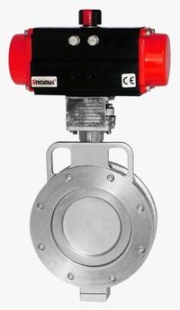 Pneumatic OFF-SET Disc Butterfly Valve