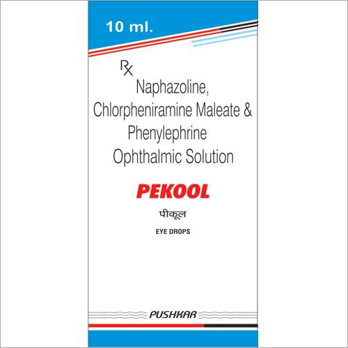 Naphazoline Chlorpheniramine Maleate and Phenylephrine Ophthalmic Solution Eye Drops
