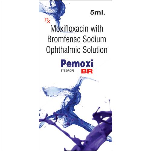 Moxifloxacin With Bromfenac Sodium Ophthalmic Solution Eye Drops