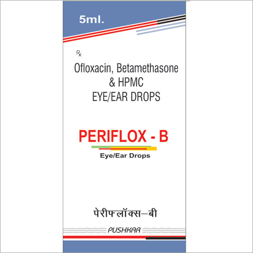Ofloxacin Betamethasone and HPMC Eye Ear Drops