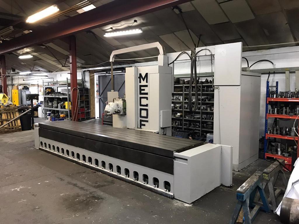 MECOF CS8 Bed Milling Machine