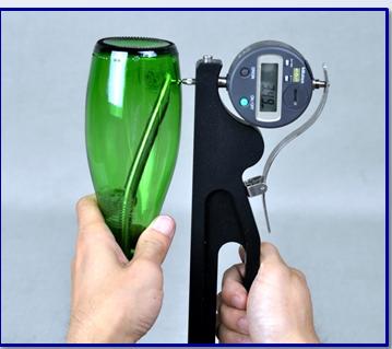 Glass Bottle Wall Thickness Gauge