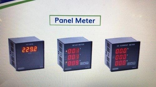 Digital Single Phase DC Volt Meter