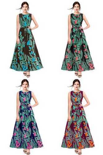 lades Designer Gown