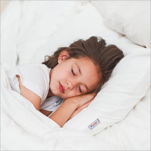 White Orthopedic Memory Pillow