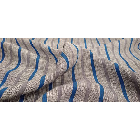 140 GSM Check Linen Shirting Fabric