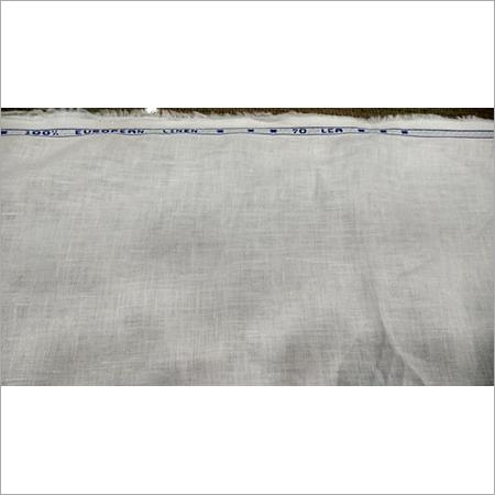 70 Lea White Linen Fabric