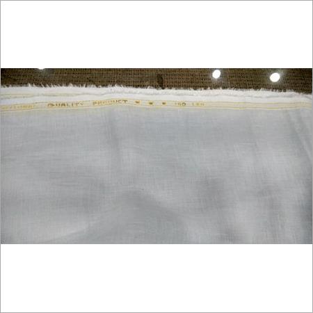 Lea White Linen Fabric