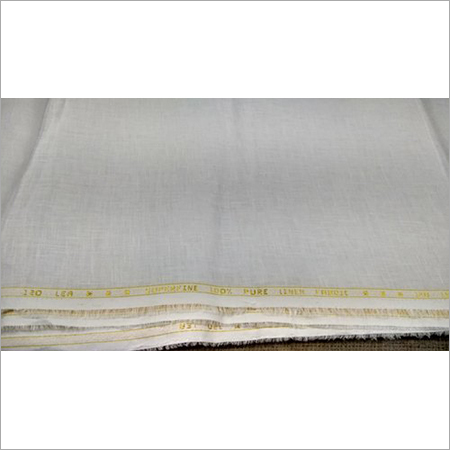 120 Lea White Superfine Linen Fabric
