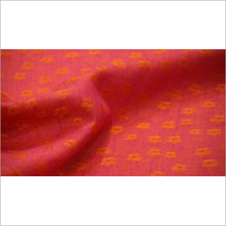 Printed Jacquard Linen Fabric