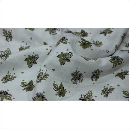 140 Gsm Printed Linen Fabric