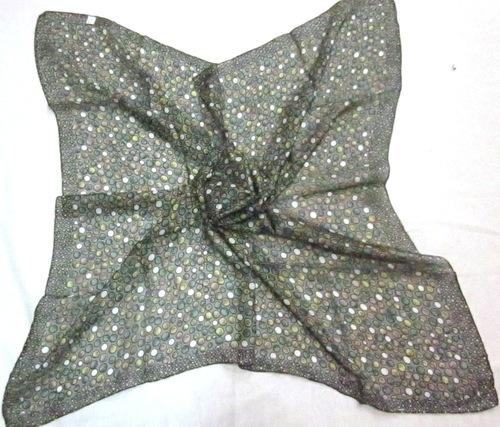 Silk Tabby Printed Scarves