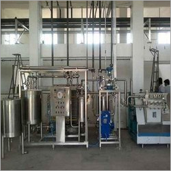 Semi-Automatic Dairy Processing Plant