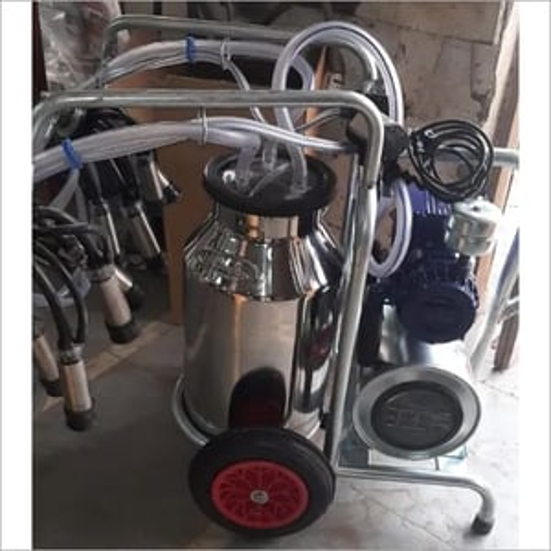 Semi Automatic Milking Machine