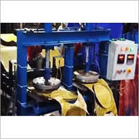 Semi Automatic Double Die Double Cylinder Paper Plate Machine