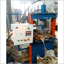 Fully Automatic Hydraulic Single Die 2 Roll Paper Plate Machine